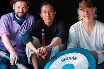 Ondřej Smeykal, Andrew Begay a Bear Love (zleva)