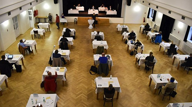 Jednání lounských zastupitelů v Zastávce