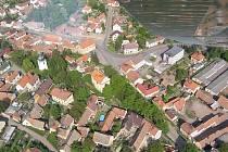 Obec Hřivice.