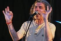Vystoupení kapely Krausberry s frontmanem Martinem Krausem