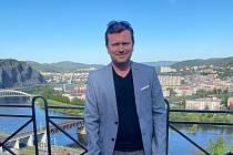 Jan Macháček, šéf Lokomotivy Louny