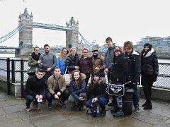 Studenti při pobytu v Londýně