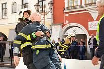 Eliška Vrbová z Cítolib skončila druhá na mistrovství ČR dobrovolných hasičů