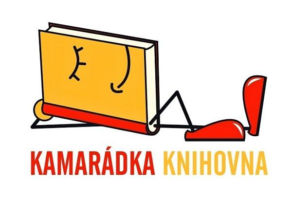 Logo soutěže Kamarádka knihovna