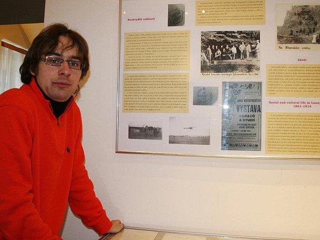 Výstavu o lounských spolcích připravil PhDr. Martin Vostřel.