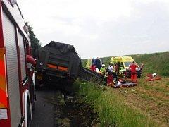Nehoda armádního vozu u Chban