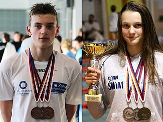 Kristián Balon a Lenka Bešíková se stali mistry republiky.