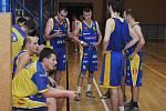 Basketbalisté Teplic si vzali v závěru time, ale jejich plány na zvrat nevyšly.