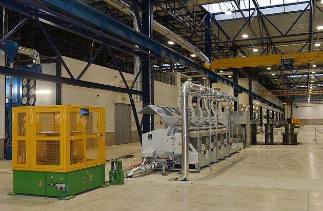 Nová továrna společnosti Kiswire vprůmyslové zóně Triangle na Žatecku
