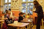 Testování dětí v ZŠ Komenského alej v Žatci