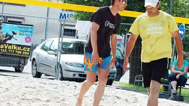 Podbořanské letní slavnosti 2013. Nechyběl oblíbený plážový volejbal