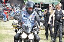 Motorkáři na 18. ročníku srazu Rack Reyd v Žerotíně.