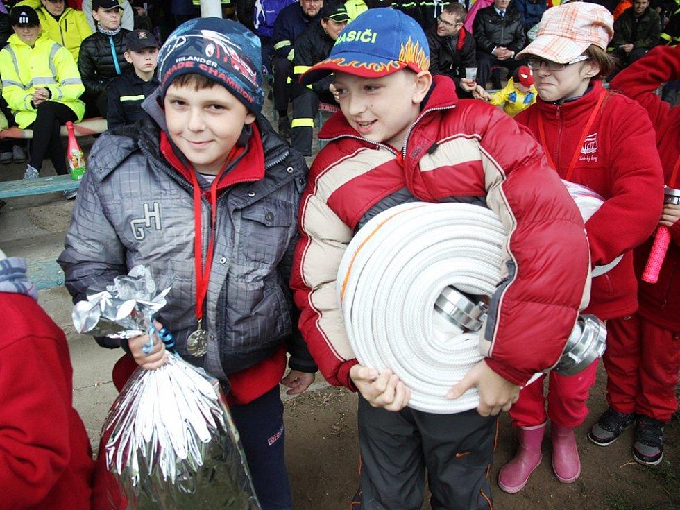 Hasičské soutěže Plamen 2014 v Podbořanech