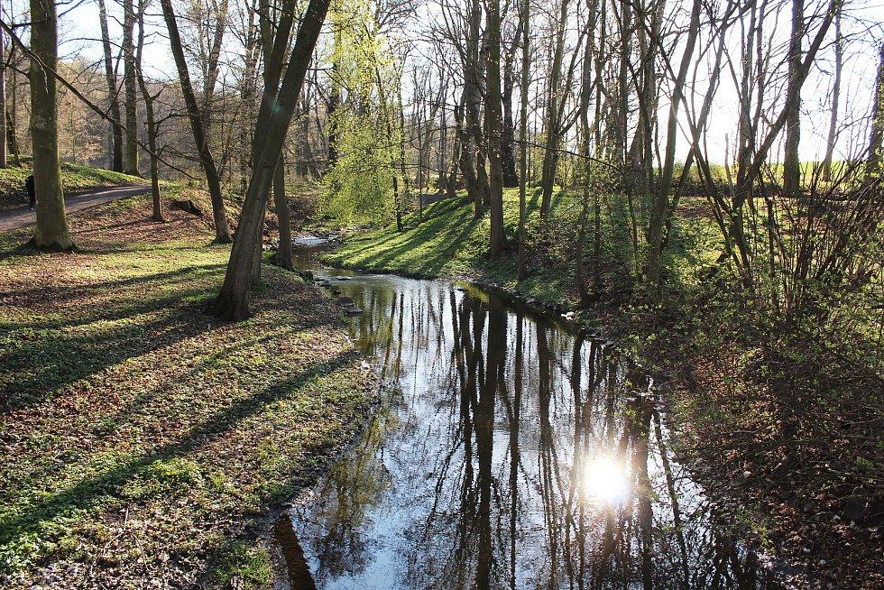 Krásnodvorský zámecký park.