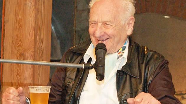 Na slavnosti přijel i známý spisovatel Arnošt Lustig.