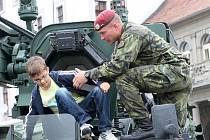 Týden s armádou v Žatci, 2012.