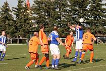 Lubenec - Vroutek B (oranžové dresy) 1:1