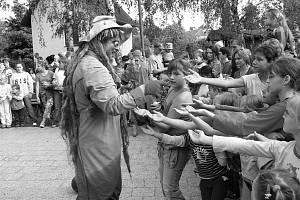 Návštěvy vodníků v Oboře na Lounsku.