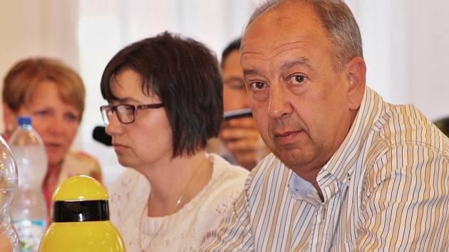 Zasedání zastupitelů Žatce 24. června 2015. Vladimír Martinovský