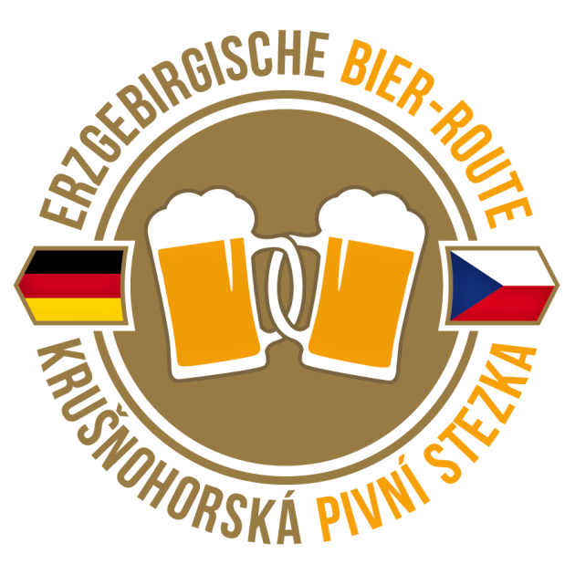 Logo Krušnohorské pivní stezky