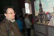 Vernisáž výstavy v žatecké synagoze