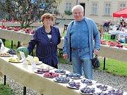Čtvrtý ročník ovocnářské výstavy v Křížově vile v Žatci