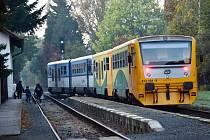 Ilustrační snímek. Vlak.