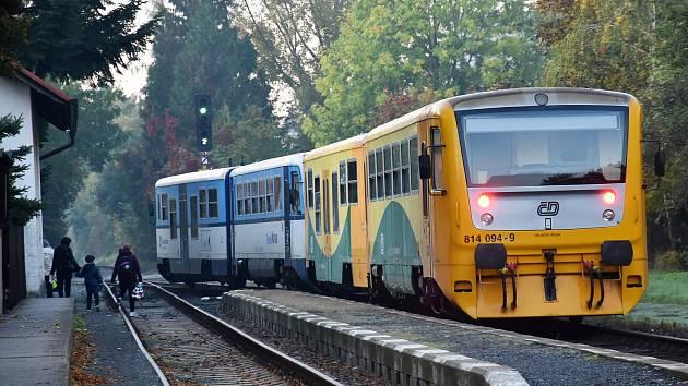 Vlak. Ilustrační snímek.