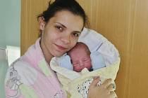 Matyáš Teinzer se narodil 2. listopadu 2016 v 5.23 hodin mamince Michaele Kováčové ze Chban. Vážil 2660 gramů a měřil 48 centimetrů.