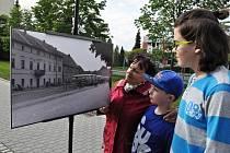 Muzejní noc v Lounech a výstava Bylo tu..., není tu s historickými fotografiemi západního předměstí