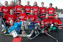 Žatečtí hokejbalisté