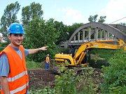 Rekonstrukce mostů přes Blšanku a Ohři nad jejich soutokem u Zálužic na Žatecku