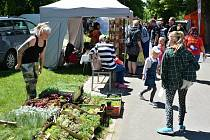 Jarní trhy na lounském výstavišti