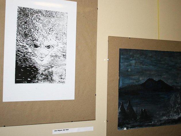 Výstava děl Tomáše Polcara a jeho žáků v Lounech