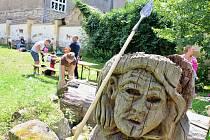 Pravěk vlastníma rukama na zahradě žateckého muzea