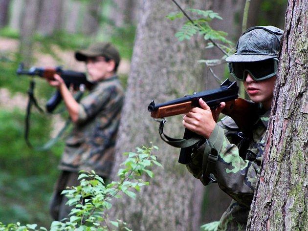 Army tábor v Žerotíně