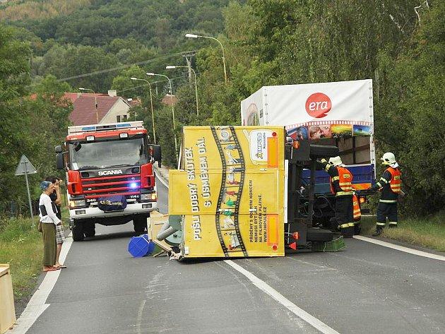 Nehoda kinematografu v serpentinách u Žiželic
