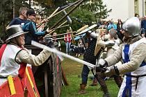 Dny evropského dědictví se nesly v duchu bitvy u Žatce.