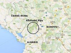 Fotografie vznikly při toulkách Albánskými Alpami