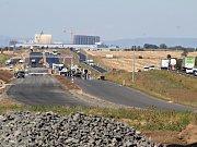 Výstavba dálnice D7 mezi Bitozevsí a Postoloprty