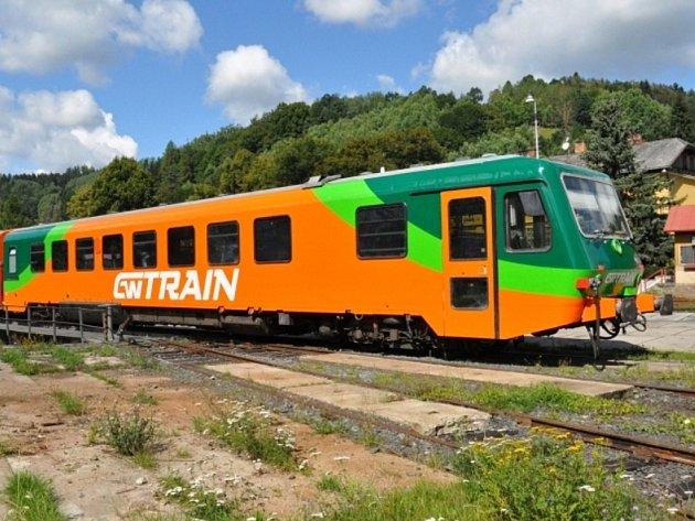 Vlaková souprava pro linku Plzeň – Most