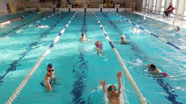 Žatecký bazén. Ilustrační foto