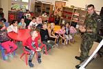 Žatečtí školáci se účastnili projektu Příprava občanů k obraně státu.