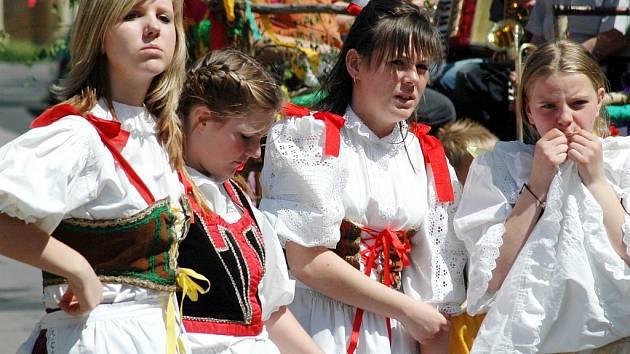 Staročeské máje v Cítolibech proběhly o uplynulém víkendu.