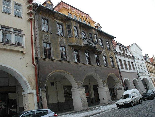 Bývalý hotel Družba v Žatci