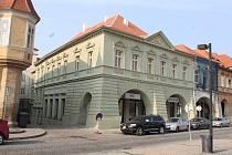 Městská knihovna v Žatci.