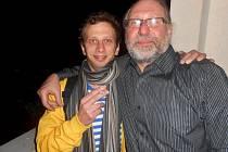 Jiří Maryško (vlevo) a Vladimír Drápal