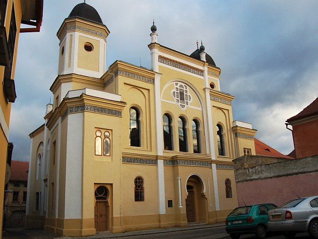 Synagoga v Žatci.