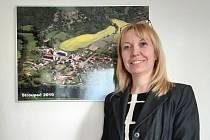 Místostarostka Obce Žiželice Lenka Mangová Mottlová.