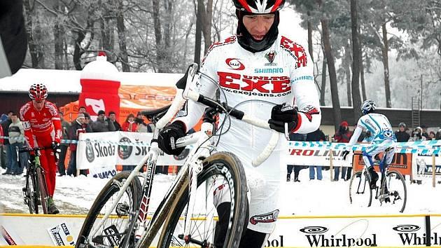 Cyklokrosař Kamil Ausbuher